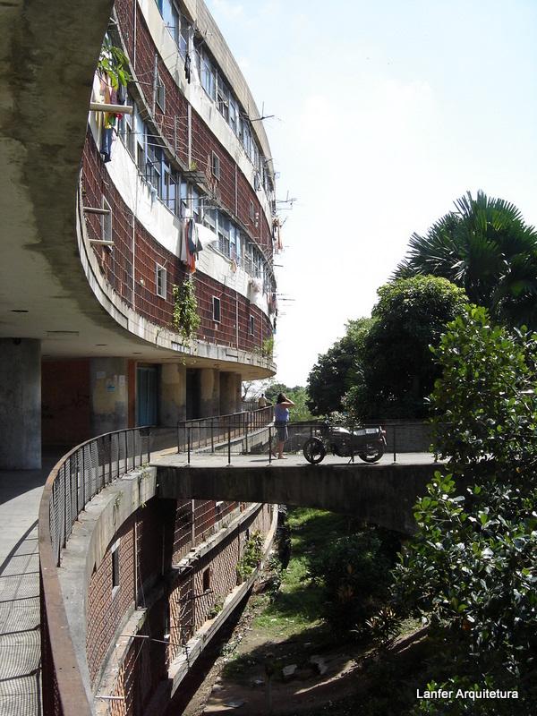 Conjunto Habitacional Pedregulho - Arq. Affonso Eduardo Reidy