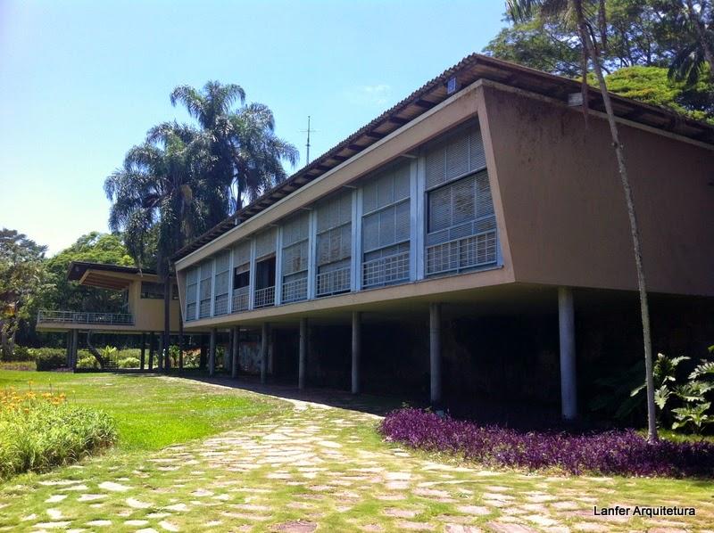 Residência Olivo Gomes - Arq. Rino Levi + Roberto Burle Marx