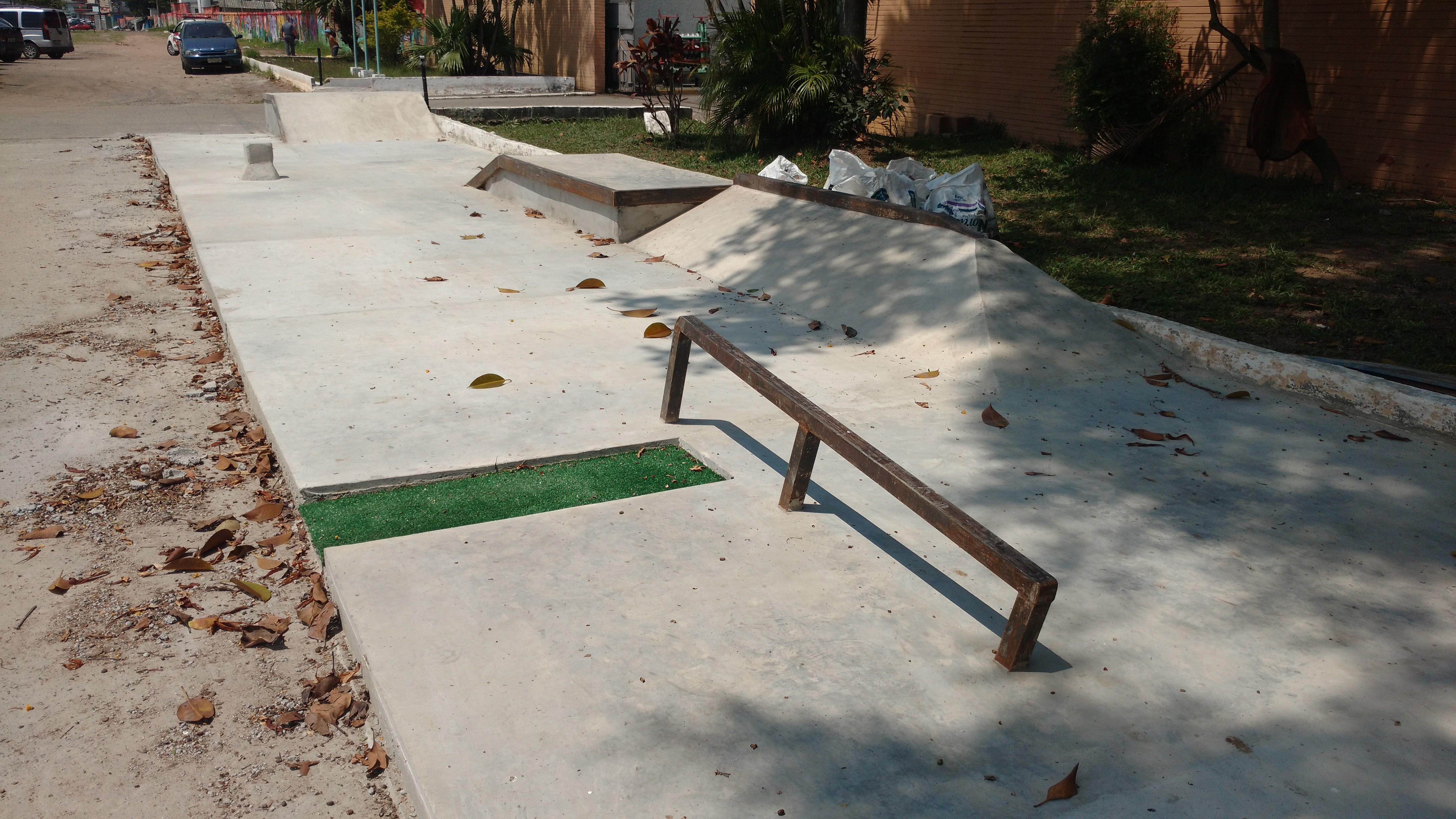 Projeto e execução de pistas de skate